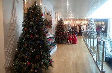 With 131 days to go, Brown Thomas has officially opened its Christmas shop in Dublin