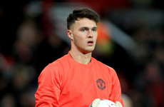 Ireland goalkeeper O'Hara joins Macclesfield on loan from Man United