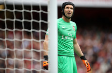 Emery ends Arsenal 'keeper debate by giving Cech vote of confidence for Chelsea