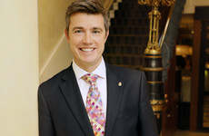 Why the Shelbourne's new boss has learned to open champagne bottles with a golden sword