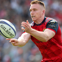 Munster centre Scannell hungry for more Ireland caps after missing out on Oz