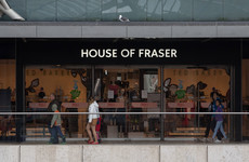 House of Fraser has cancelled all of its outstanding online orders