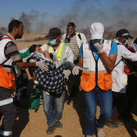 Palestinian border protesters shot dead by Israeli troops