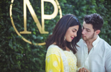 Nick Jonas and Priyanka Chopra shared some mega cute pics from their pre-wedding ceremony in India