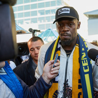 Usain Bolt insists he's deadly serious about becoming a professional footballer