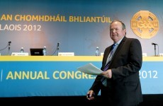 GAA Congress 2012: The main motions in pictures