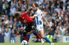 As it happened: Brighton vs Man United, Premier League