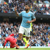 Aguero nets 13th Man City hat-trick as champions smash six past dismal Huddersfield