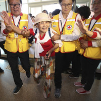 'I never imagined this day would come': South Koreans meet relatives in North after decades apart