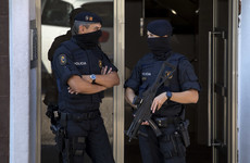 Spanish police treating attempted knife assault on officers as 'terrorist attack'