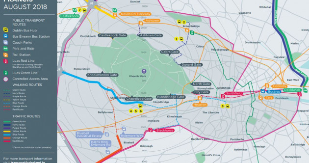Your bumper guide to getting around Dublin during the Pope's visit