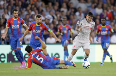 As it happened: Crystal Palace v Liverpool, Premier League