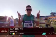 Unstoppable! Jason Smyth sets new championship record to claim 200m European gold