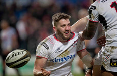 Ulster sign centre Stuart McCloskey to new three-year contract