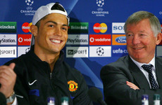 'Too many stepovers' - Ronaldo says father figure Ferguson 'taught him everything'