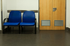 Clinical file of patient 'observed unattended at desk' in psychiatric ward