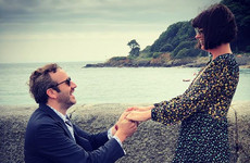 Dawn O'Porter revealed Chris O'Dowd accidentally proposed to her in front of a slaughterhouse