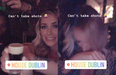 Laura from Love Island struggled with some baby Guinesses in a Dublin bar last night