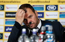 Defiant Cheika unimpressed when questioned over Wallabies future