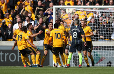 Laporte bullet header rescues Man City after Wolves' controversial opener