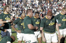Rassie calls Springbok display in Argentina 'unacceptable'