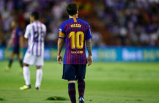 Barca bemoan Valladolid pitch, La Liga to take disciplinary action