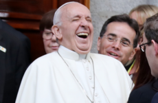One girl got a selfie with Pope Francis, and it's the highlight of the Papal Visit TBH