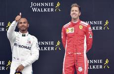 Vettel trims Hamilton's championship lead with convincing win at crash-hit Belgian Grand Prix