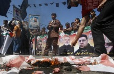 Hundreds of Palestinians declare hunger strike
