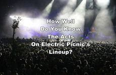 How Well Do You Know The Acts On Electric Picnic's Lineup?
