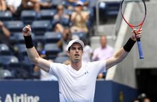Andy Murray enjoys winning Grand Slam return at US Open
