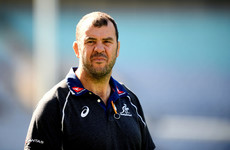 Under-pressure Michael Cheika's job is safe despite poor run, say Rugby Australia