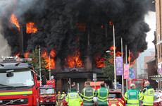 'Grave concerns' that Belfast Primark store building may collapse after major fire