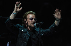 Bono says he's proud of how European countries 'rallied behind Ireland on the border issue'