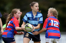'We had 1,050 girls playing rugby. It's been a big success'