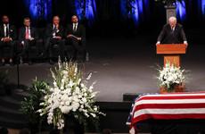 Joe Biden eulogises late friend John McCain as 'giant among all of us'