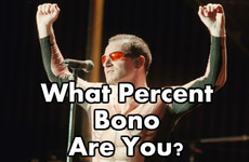 What Percent Bono Are You?