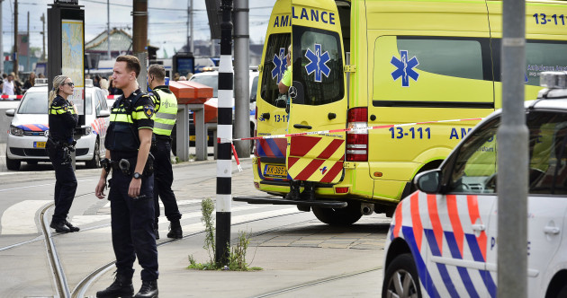 Two people seriously injured in Amsterdam train station stabbing are US citizens, ambassador says