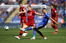 As it happened: Leicester City v Liverpool, Premier League