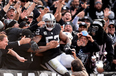 The Raiders are trading away their star pass rusher a week before the new NFL season