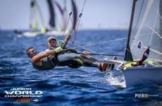 Joy for Irish teenage pair as they win gold at U23 49er Sailing World Championships