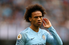 Leroy Sane hasn't let me down, insists Pep Guardiola