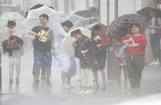 Japan braces for 'very strong' typhoon as authorities warn of floods and landslides
