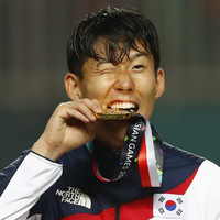 Son thanks 'special' Spurs as Asian Games gold medal spares forward two years of military duty
