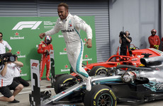 Hamilton equals Schumacher record with sensational Italian Grand Prix victory