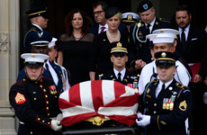 Senator John McCain ends 81-year journey with burial at Naval Academy