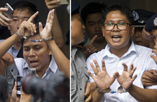 Outrage as two Reuters journalists jailed over breach of state secrets law