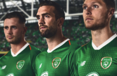 The Republic of Ireland's new home shirt has been officially unveiled