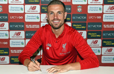 Liverpool captain Henderson signs new long-term contract