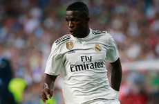 Atletico Madrid youngster admits regret over Vinicius Junior 'bite'